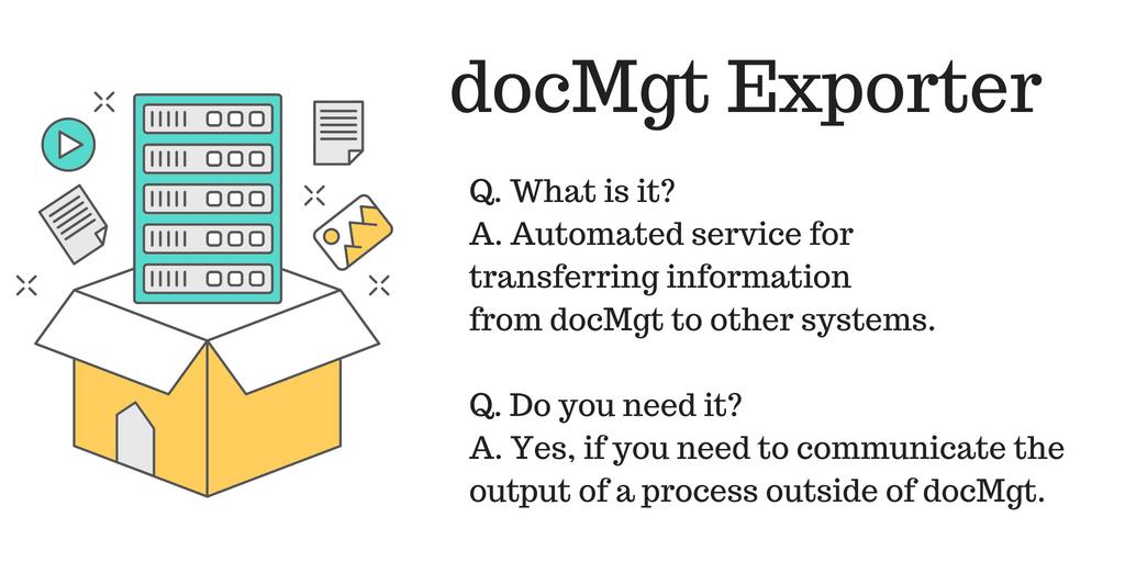 docMgt Exporter
