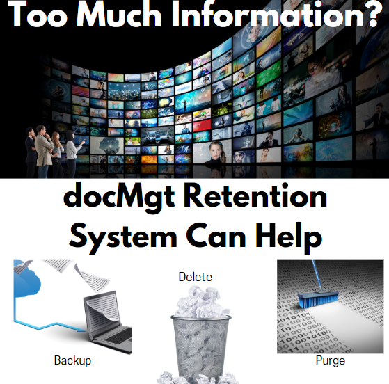 docMgt Retention Can Help