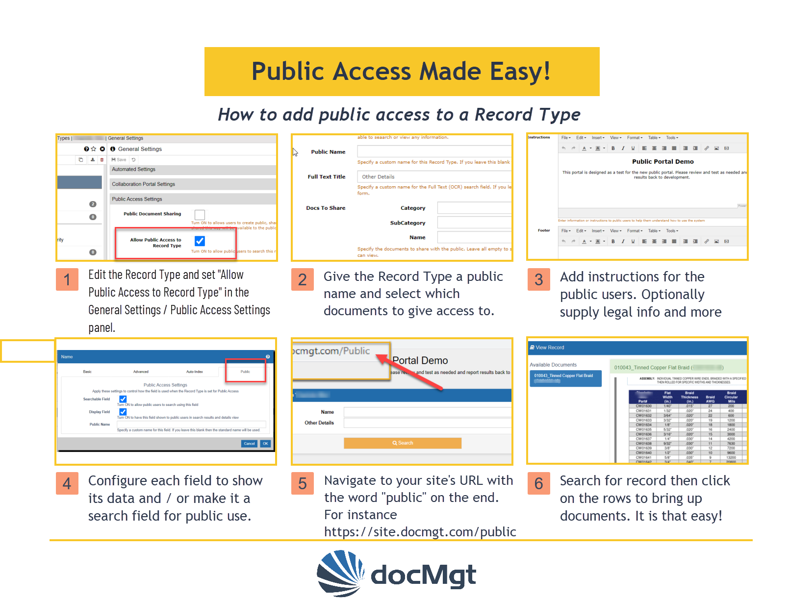 Public Access Made Easy